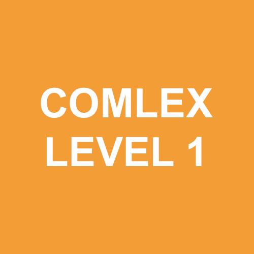 COMLEX Level 1   COMLEX Level 2  